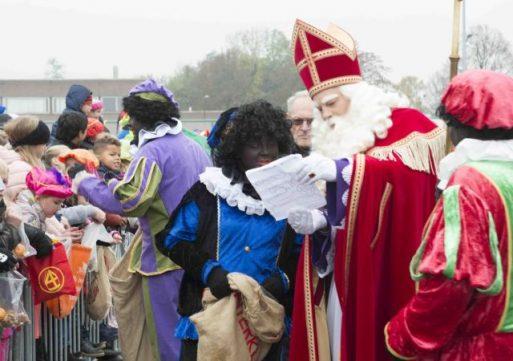 Intocht Sinterklaas in Waalwijk op 18 november