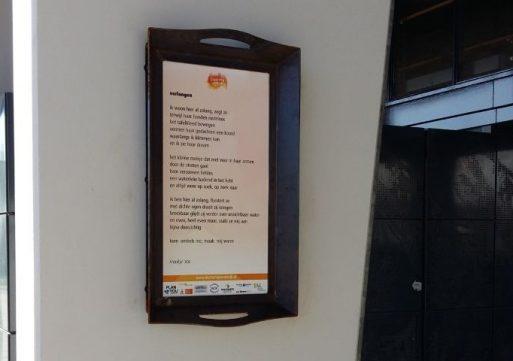 Eerste fase poëzieroute in Waalwijk afgerond