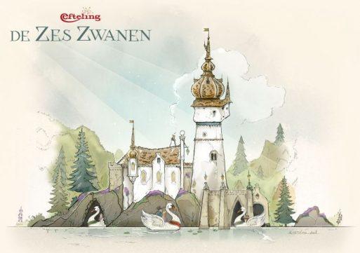 Nieuw sprookje in De Efteling: 'De zes Zwanen'