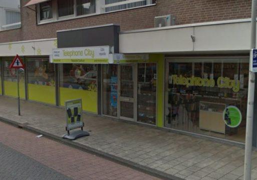 Inbraak bij Telephone City in Waalwijk