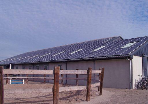 Eerste Dongense 'zonnige energiecentrale ' in werking gesteld.
