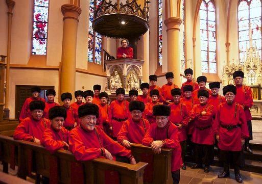 Enschede's Byzantijns Kozakken Koor in Dongen