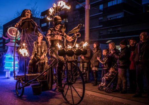Magisch Winterfeest zet Waalwijk in vuur en vlam